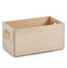 30x20x15 cm Holzkiste offen Kiefer Holz Box Holzbox Allzweckkiste Kiste