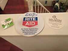 Rx Pharmacy , Advertising Promos , Rite-Aid Mouse Pad , Relafen Jar Opener ,Golf