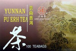 Yunnan Pu Erh Tea included 100 Tea Bags #91028 PuErh