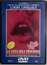 LA VERA GOLA PROFONDA - Damiano DVD Lovelace OOP