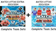 Match Attax + Extra 2013/14 Full Team Base Sets Topps 2013/2014 13/14