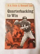 Quarterbacking to Win (1964 HC/DJ) Y.A. Tittle & Howard Liss