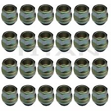 24 Piece | 14x1.5 Open End Lugs Nuts | Chevy GMC GM Factory Style Lugs