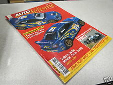 AUTO MODELISME N° 78 COOPER MASERATI SUBARU XRC MONTE CARLO 2002 *