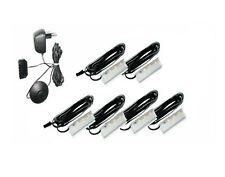 LED clip Glasbodenleuchte/Glaskantenbeleuchtung 6er Set Kunststoff Warmweiß