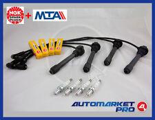 KIT ACCENSIONE CAVI MTA + CANDELE NGK FIAT PUNTO 1.2 16V PRIMA SERIE 59 KW