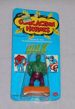 vintage Mego COMIC ACTION HEROES THE INCREDIBLE HULK MOC sealed