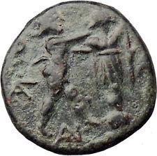 Antigonos II Gonatas Macedon King Ancient Greek Coin Nude PAN Athena i30534