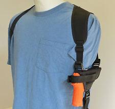 Nylon Gun Shoulder Holster for BERSA THUNDER 380 & 22 Pistol Black
