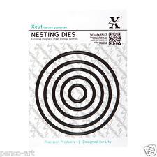 X cut 5 pc nesting dies circles 20 to103mm Use Xcut, sizzix, big shot eBosser