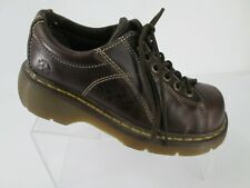 Doc Dr Martens Oxfords  Womens  US 7 Brown Leather Renee 12283 Flowers