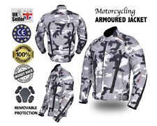 Motorbike Motorcycle Camo Jacket  Cordura Textile Jacket,CE Approved Armour