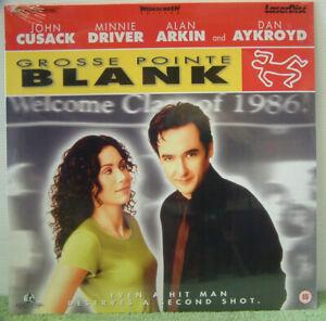 Grosse Pointe Blank (1996) PAL Laser Disc, John Cusack, Dan Aykroyd PLFEB 37261