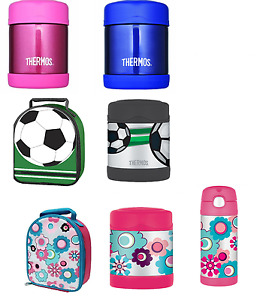 Thermos FUNtainer Stainless Steel Insulated Lunch Bag, Bottle or Flask for Kids