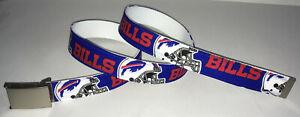 Buffalo Bills Belt & Buckle Football Fan Game Gear Team Apparel Pro NFL Shop NY