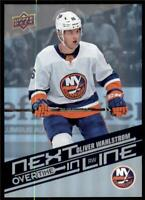 2019-20 UD Overtime Wave 2 Next In Line #NL-9 Oliver Wahlstrom - Islanders