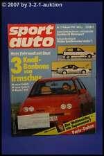 Sport Auto 2/85 Opel Kadett Manta i240 Lancia Delta S4