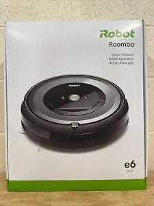 iRobot Roomba E6 Wi-Fi Connected Robot Vacuum E6134 NEW