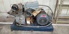 Ingersoll Rand T30 Air Compressor 25 Hp 3 Phase Dual Stage With 120 Gallon Tank