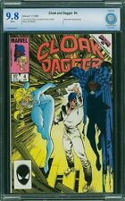 CLOAK AND DAGGER #4 CBCS 9.8 White Pages -- Beyonder Appearance