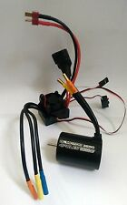1/10 rc voiture buggy 4P 3650 capteur brushless 2300KV motor & 60A esc combo set