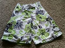 Outlooks Board Shorts size small S - white/black/green