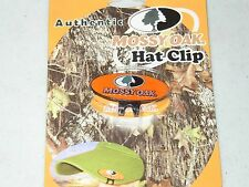 NEW Authentic MOSSY OAK ORANGE HAT CLIP - HARD TO FIND!