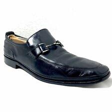 Cole Haan Black Loafers Horse Bit Slip On Shoes Men's 9.5