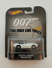 """Hot Wheels James Bond 007 """"You Only Live Twice"""" Toyota 200GT Roadster"""
