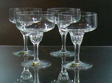 VINTAGE CHAMPAGNE SET OF 4 GLASSES GISTL GLAS 1960 GERMAN