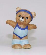 Vintage Homco Porcelain Bear Figurine - Series #1448 - Athlete with Headband