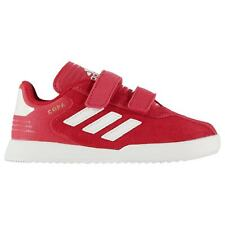 adidas Copa Suede Trainers Sports Shoes Low Top Infants Boys Strap Hook and Loop