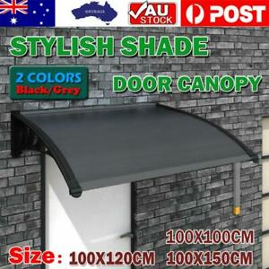NEW 1.2M 1.5M Window Door Awning Outdoor UV Rain Cover Patio Canopy Sun Shield