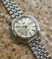 Very Rare Vintage Seiko 5 DX 25 Jewels Automatic 6106 8141 August 1968 JDM 38mm
