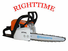 """Stihl MS170 Chainsaw fitted with 10"""" Carving Kit Dime Bar 1/4 Chain & Sprocket"""