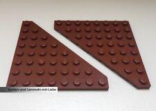 432 Lego Stein schräg positiv 2x2x2 new Braun 2 Stück