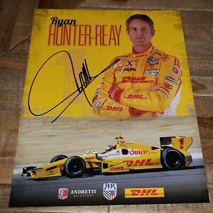 IndyCar/Indy Lights/USF2000/Porsche GT3 Cup AUTOGRAPHED Driver Photo AUTHENTIC