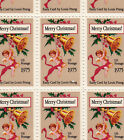 Christmas Early Card Mint Sheet of 50 Stamps, Scott #1580, MNH, Free Shipping!