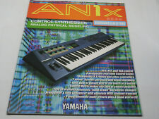 BEDIENUNGSANLEITUNG - GERMAN OWNER'S MANUAL YAMAHA AN1X 1997 - NEW, NEVER USED