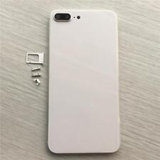 Grade A Back Glass housing Metal Frame 7 Plus to 8 Plus Silver White Glass Frame
