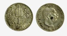 pcc2128_105)  Franz Joseph I 1 Korona 1913 AG