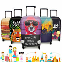 "3D Fashion Elastic Luggage Suitcase Cover Protective 18""- 32"" Bag Dustproof Case"