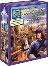 Count, King & Robber Carcassonne Expansion #6 Board Game Z-Man Games ZMG ZM7816