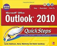 Microsoft Office Outlook 2010 QuickSteps by Matthews, Carole