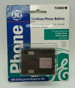 GE Cordless Phone Battery TL96502 New NIP 3.6 Volt Fits AT&T Sony V-Tech Lucent