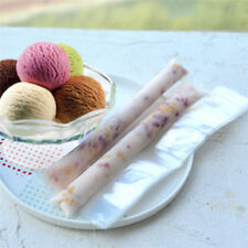 20Pcs Ice Pop Bag Tray Disposable Ice Cream Ice Lolly Self Sealing Mold Bags DIY