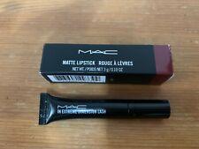 NWT MAC Matte Lipstick ROCKER 647 w. MAC Extreme Dimension Lash