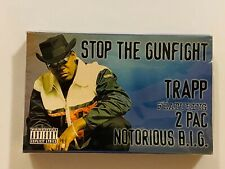 TRAPP FT. 2 PAC & NOTORIOUS B.I.G. Stop The Gunfight 1997 CASSETTE SINGLE New