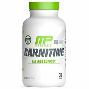 MusclePharm Essentials Carnitine Capsules 1000mg Carnitine Blend 30 Servings