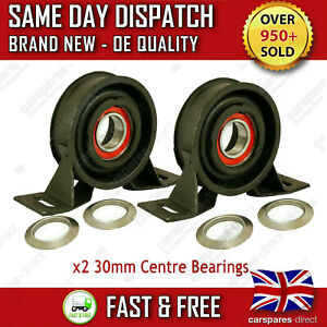 2x PROPSHAFT CENTRE BEARINGS LAND ROVER FREELANDER 1 1998>06 MOUNT SUPPORT PAIR